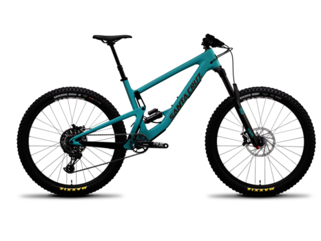 DEMO 2019 Santa Cruz Bronson C R+ blue koko XL