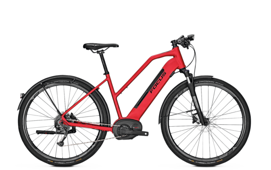 2019 Focus Planet2 6.7 TR 13,4Ah red